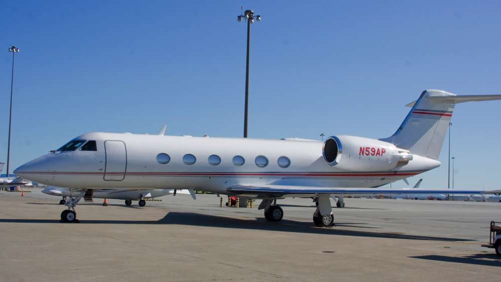 Private jet users on the rise