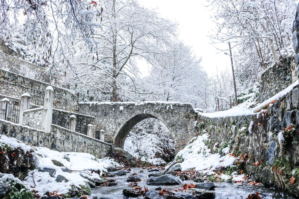 Kalopanagiotis: the cosiest winter destination