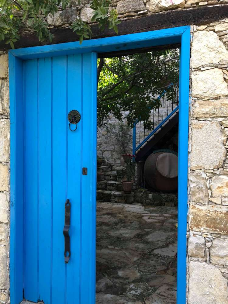 Knock Knock: Beautiful doors in Cyprus villages