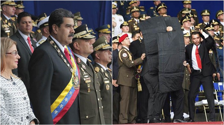 Venezuela arrests six over drone explosions during Maduro speech