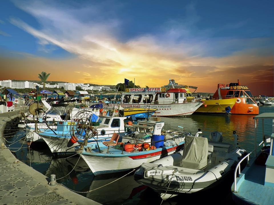Beautiful photos of fishing ports from all over Cyprus