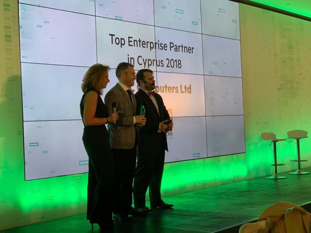 "GCC Computers retains ""Top Enterprise Partner of the Year"" award by Hewlett Packard Enterprise"