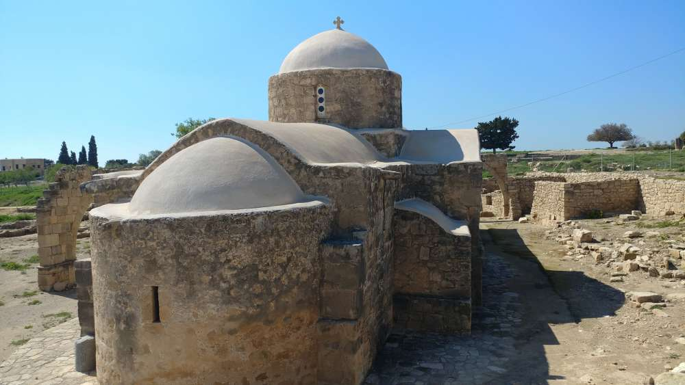 Church of Panagia Katholiki in Kouklia