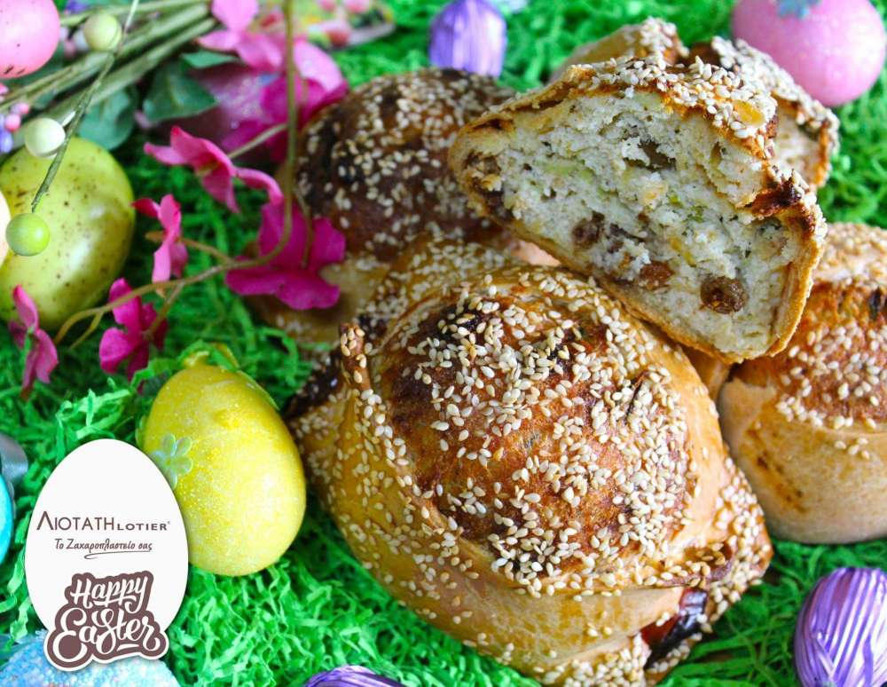 Where can you find the best Easter flaounes and tsourekia?