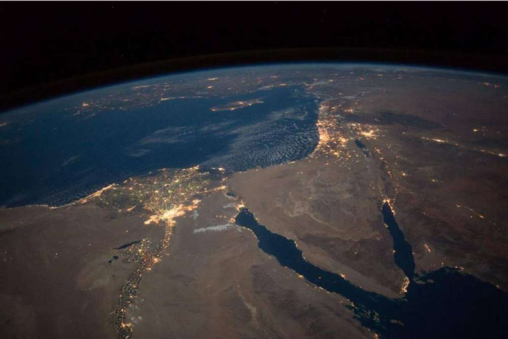 NASA posts picture of Cyprus taken from space