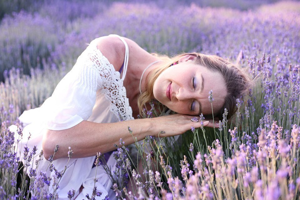 Meditative Movement in Lavender