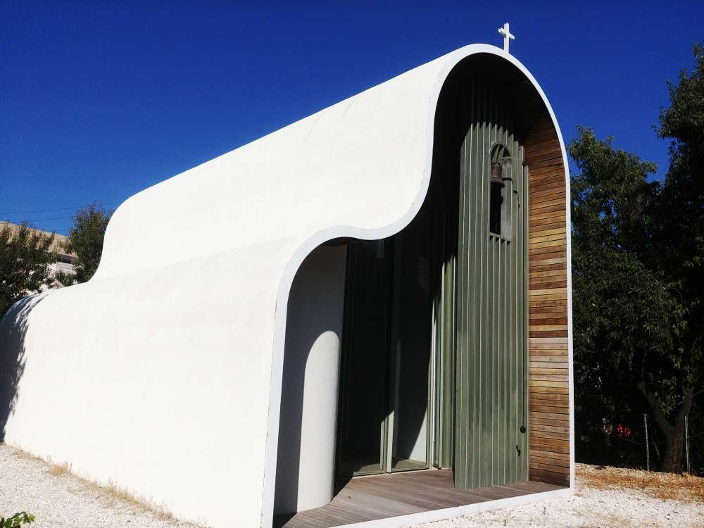 Τhe most futuristic chapel in the world is in Paphos