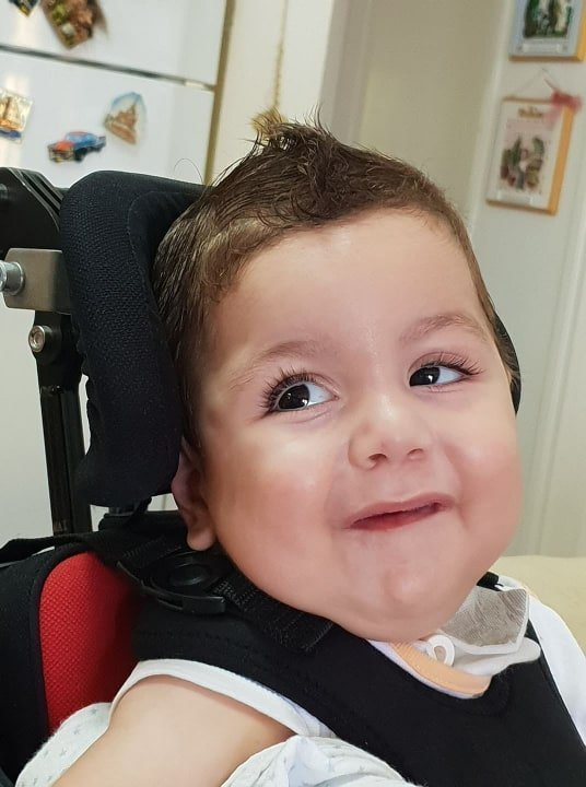 Doctors in Boston optimistic about little Antonis' therapy