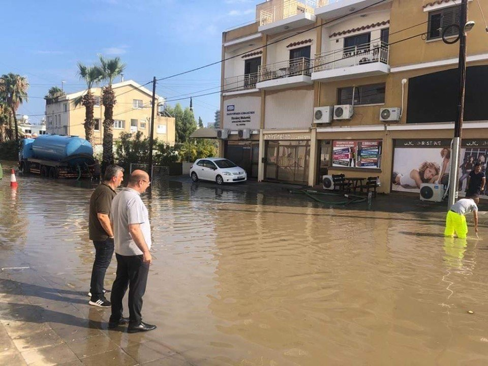 Larnaca Mayor rejects criticism after Sunday's flooding problems