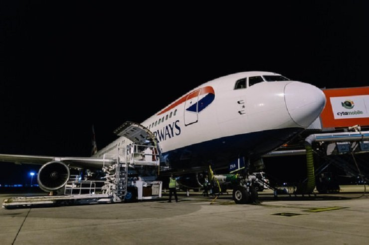British Airways retires Boeing 767 after flight from Cyprus (video+pictures)
