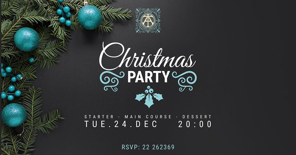 Christmas Party at Atelier
