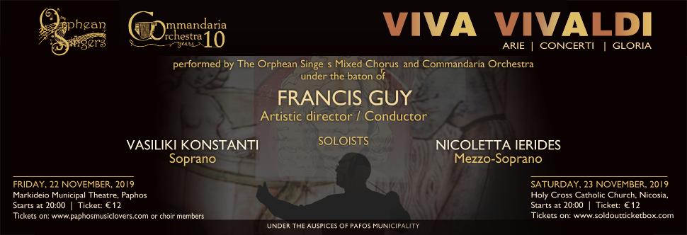 Viva Vivaldi! Arie | Concerti | Gloria in Nicosia