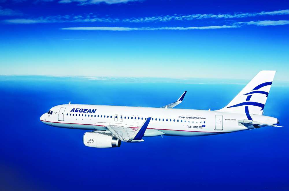Poll: Aegean voted 5th Best International Airline