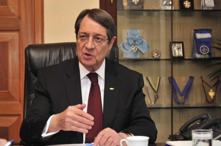 President Anastasiades does not want to make remarks to affect climate of forthcoming meeting with the UNSG
