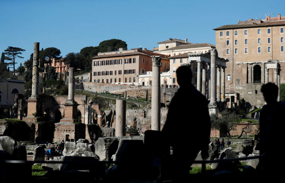 Archaeologists unveil possible shrine to Rome's first king