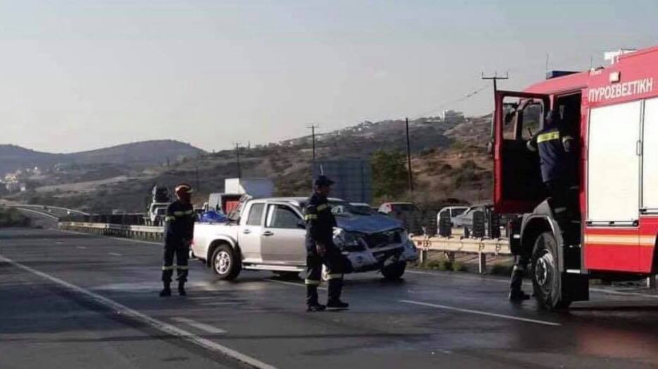 Update: Nicosia-Limassol highway open after road accident; three injured