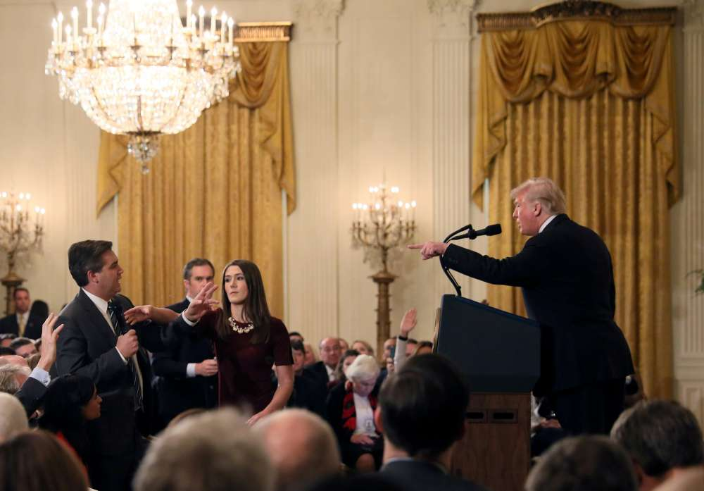 CNN sues White House over revoked credentials of correspondent (video)