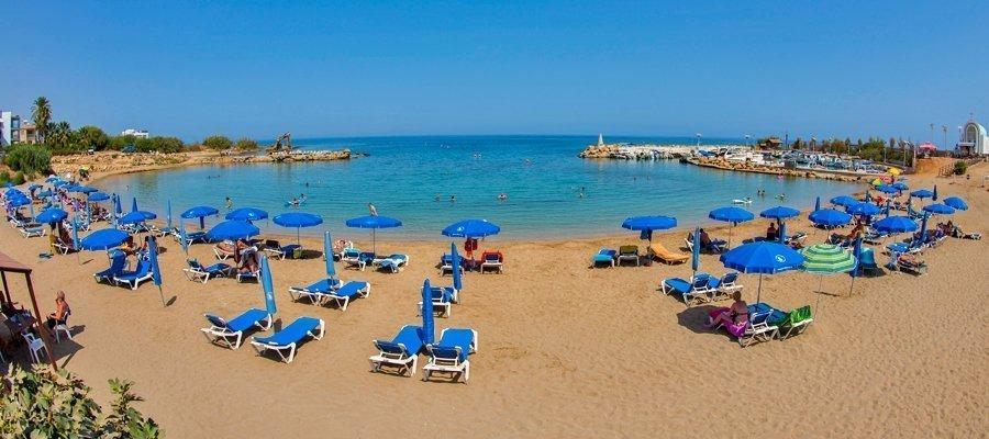 Agia Triada Beach - Blue Flag