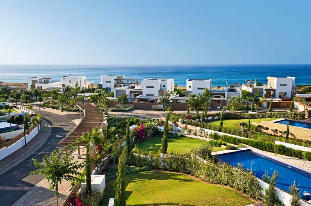 Cybarco's beachfront homes at Akamas Bay Villas: Launch of sales and construction of second phase
