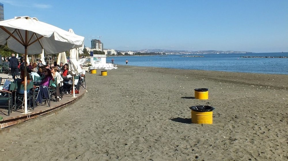 Beach Clean Up at Akti Olympion B'