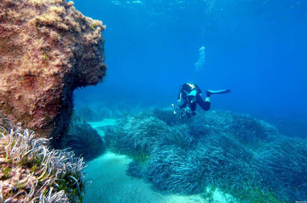 Amphorae Caves Diving Site