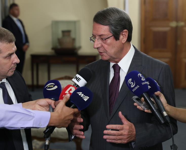 President says political equality as interpreted by the Turkish Cypriot side is not acceptable