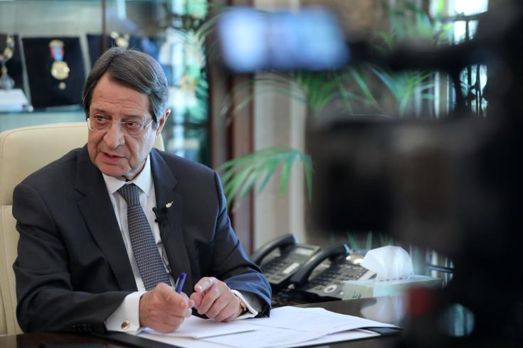 President Anastasiades: ready to put up a fight to implement reforms