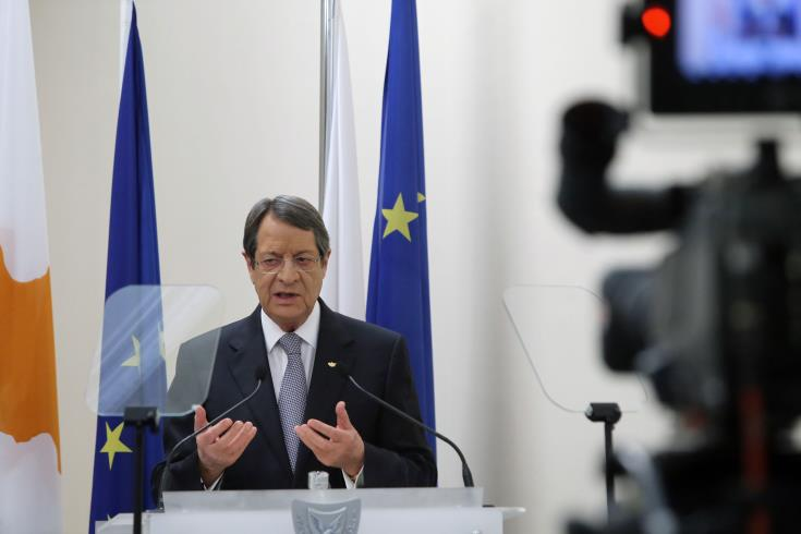 President says he aims at a Cyprus settlement that will stand the test of time