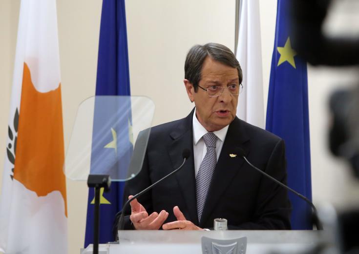 "President describes Turkish activities in Cyprus' EEZ as ""a second invasion"""