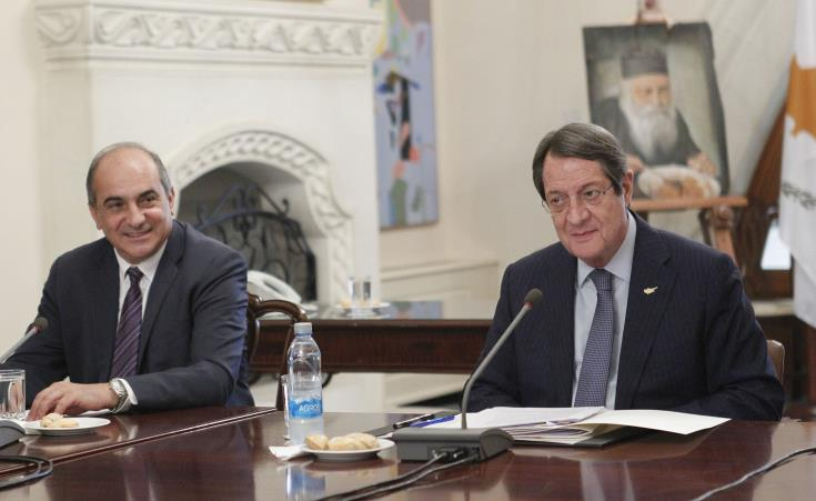 Cyprus President seeks to resume talks under right terms