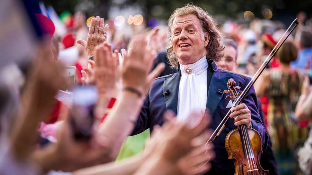 Andre Rieu is inviting cinema audiences to his party this weekend