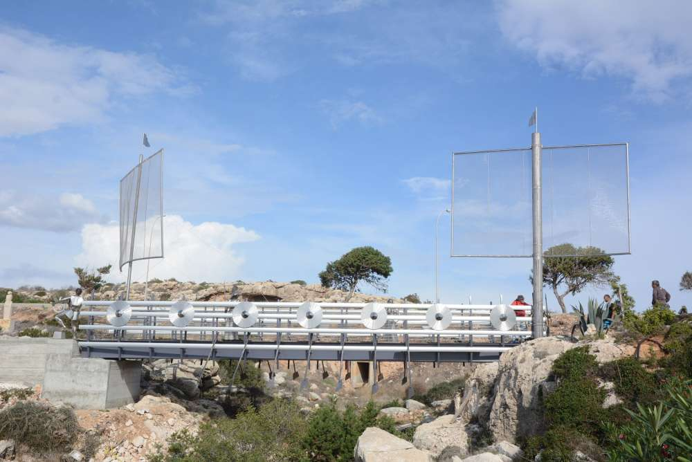 Ayia Napa mayor inaugurates 'Argo' bridge (pictures)