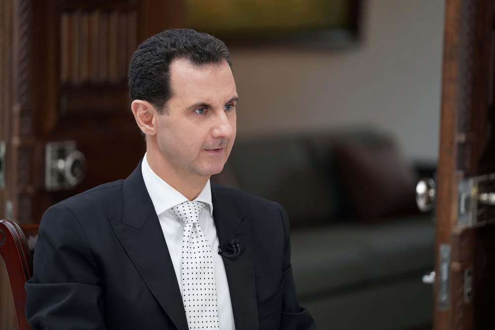 Assad discusses peace talks