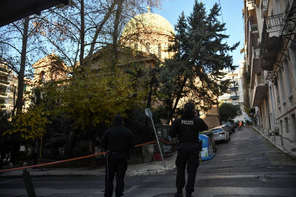 Explosive device close to church wounds two in central Athens