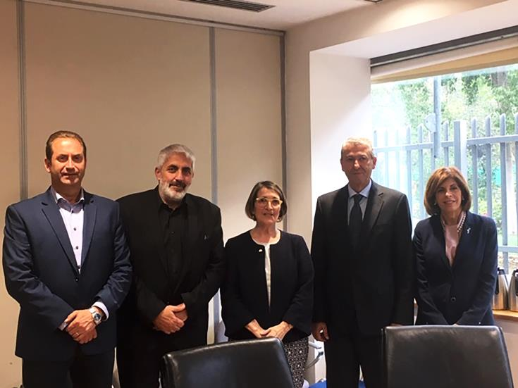 Federal Member of the Australian Parliament in Cyprus for meetings