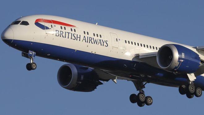 BA plane lands safely at Paphos Airport