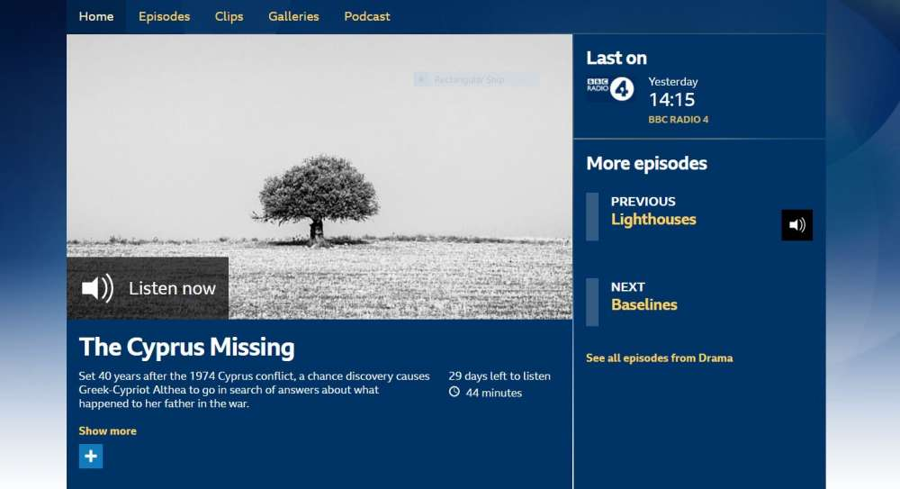 BBC radio show on Cyprus' missing persons