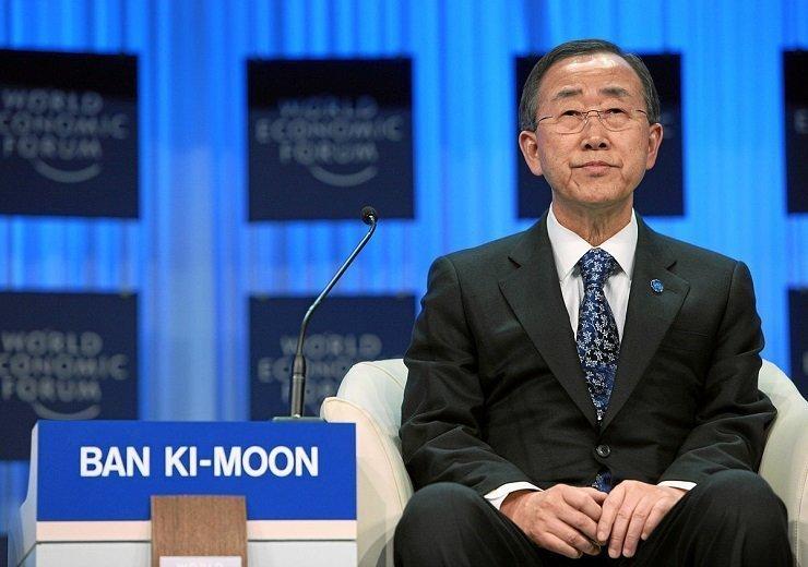 Ban Ki-moon says US healthcare system is 'morally wrong'