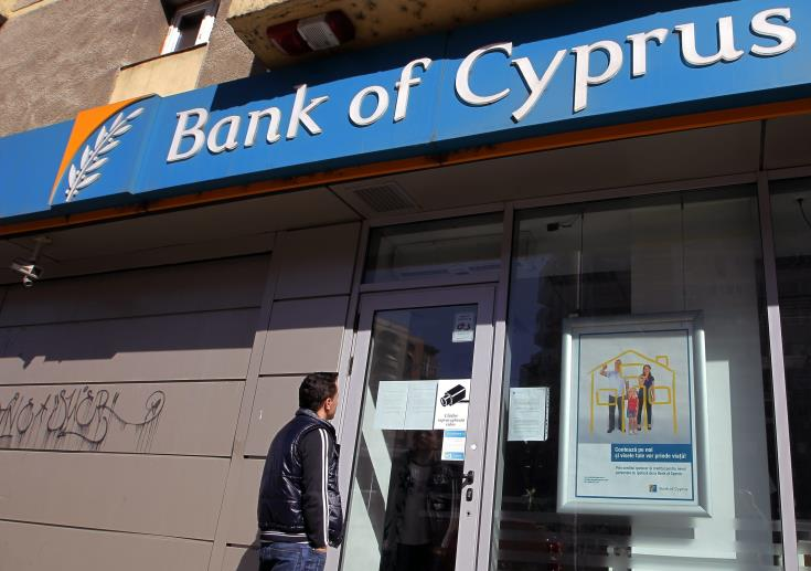 Bank of Cyprus' private investments