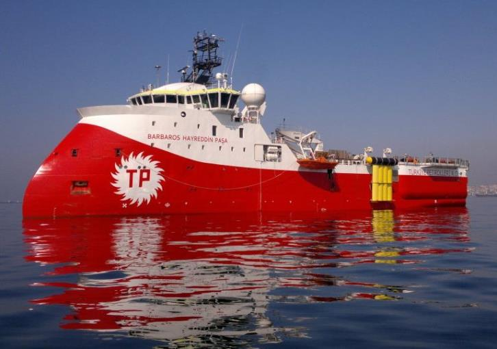 Cyprus protests to the UN about ongoing illegal activities in its EEZ by Turkey
