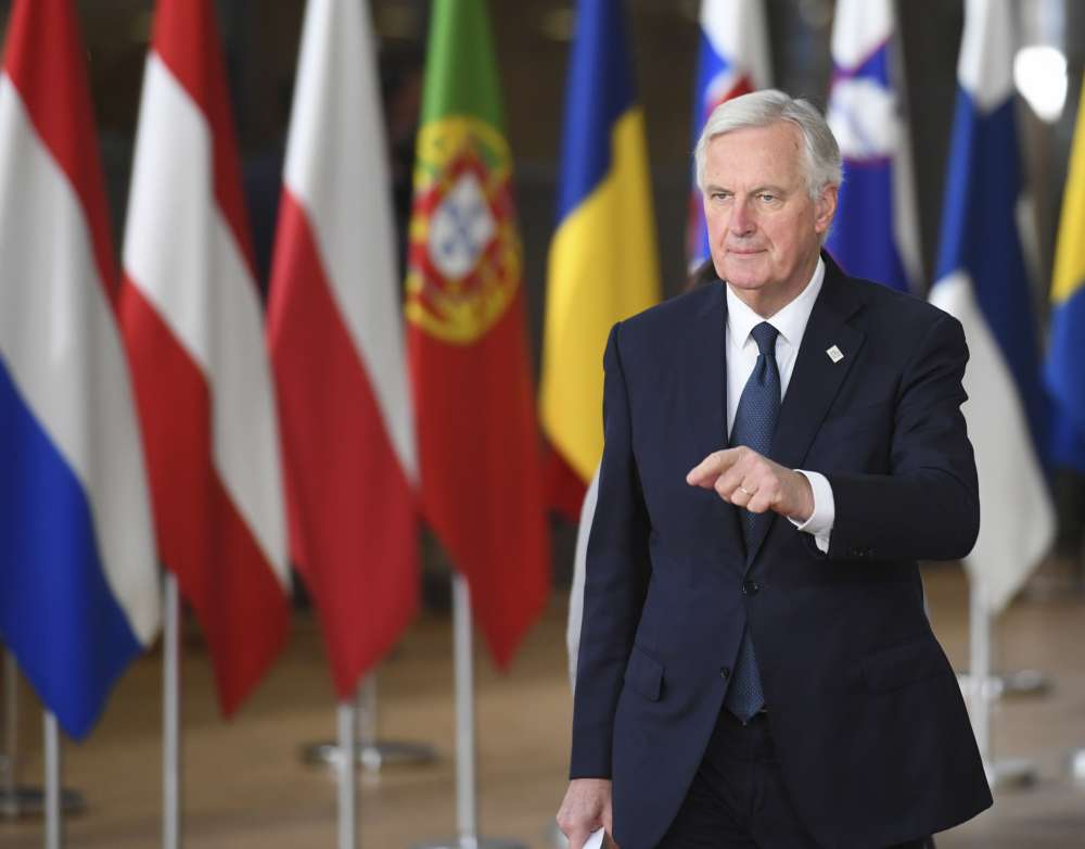 Coming week will be important for Brexit negotiation - EU's Barnier