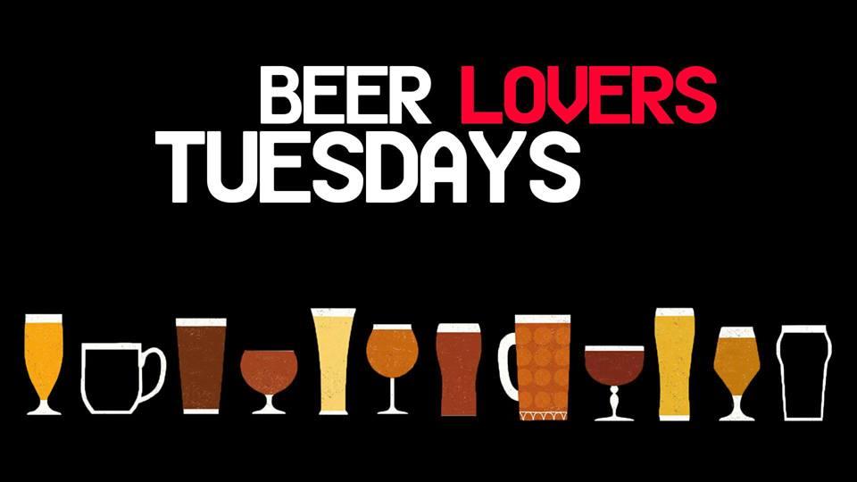 Beer Lovers Tuesdays: Beer Tasting