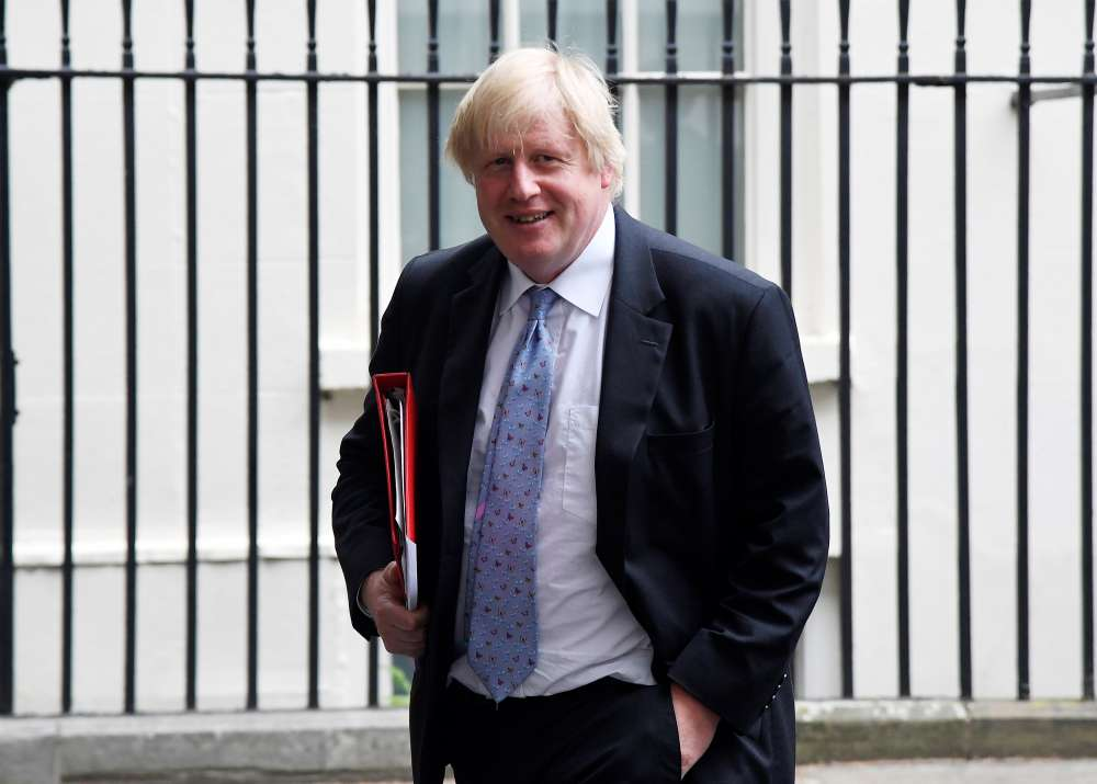 UK foreign minister Boris Johnson resigns
