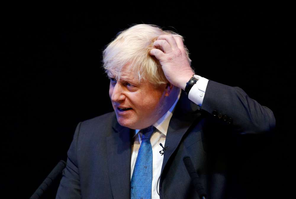 UK Parliament's watchdog orders Boris Johnson to apologise for not publishing earnings