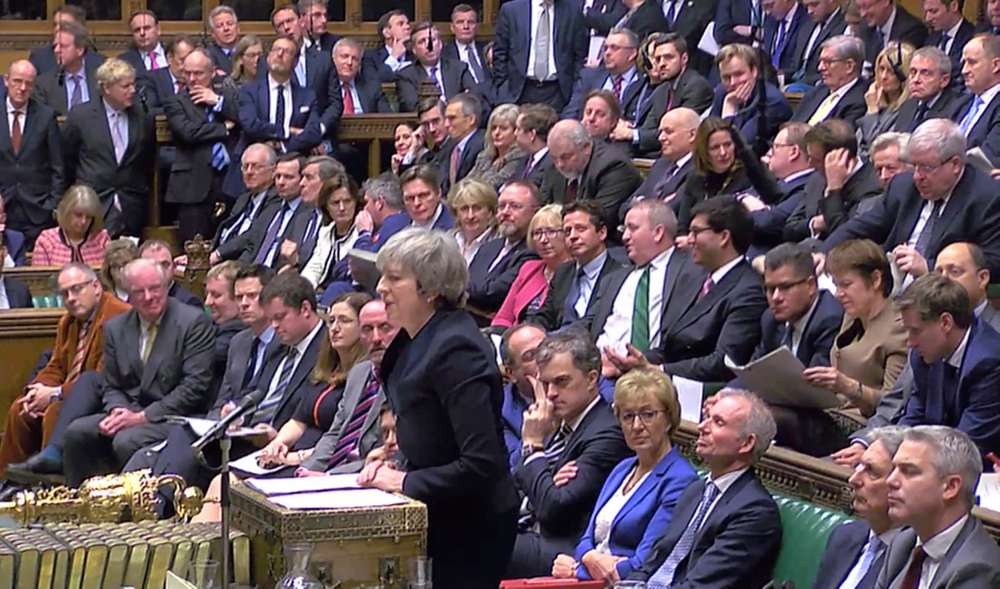Brexit bedlam: Parliament sinks PM May's EU divorce deal by 230 votes