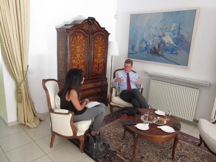 UK High Commissioner: Only plan A for Cyprus