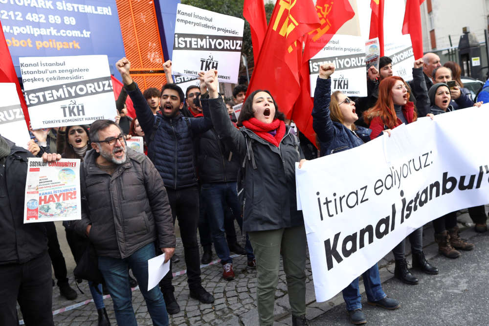Erdogan pushes 'crazy' Istanbul canal dream despite opposition