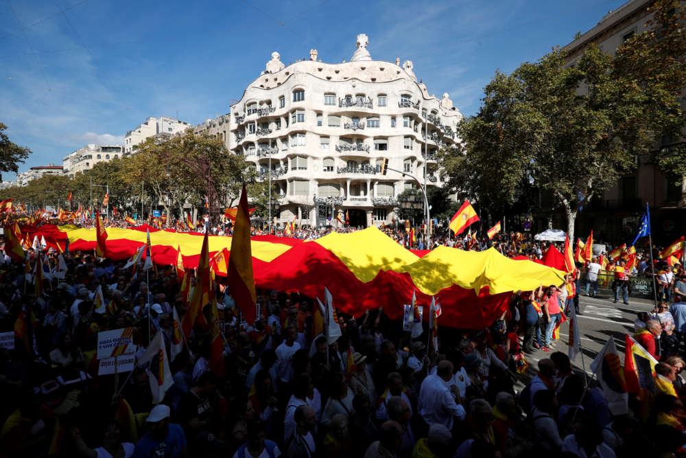 Catalonia in deep political fault lines