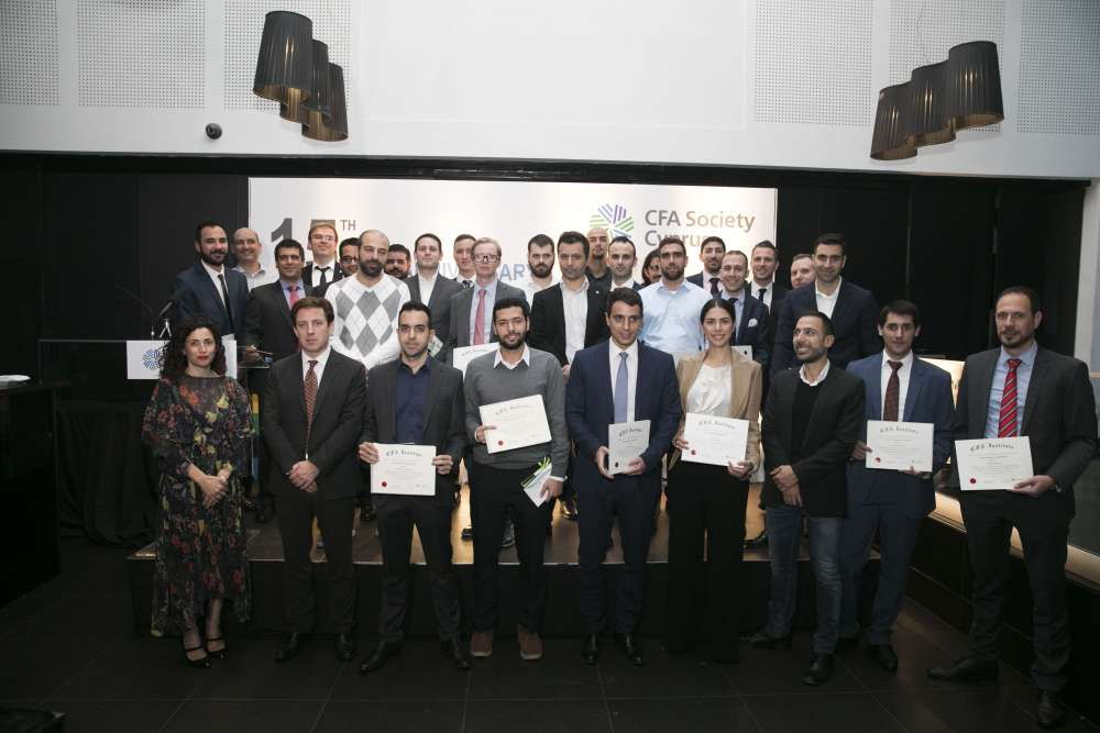 CFA Society Cyprus celebrates 15th anniversary with record number of new members