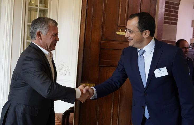 Cyprus-Greece-Jordan FMs meet December to prepare trilateral Summit